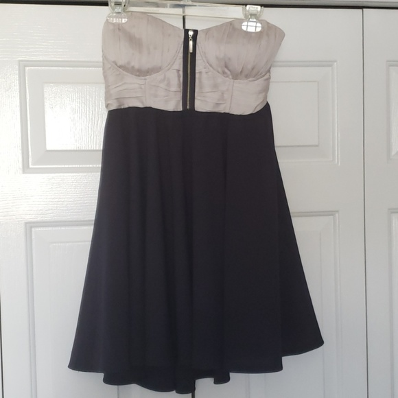 daisy shoppe Dresses & Skirts - Flowy grey and navy dress